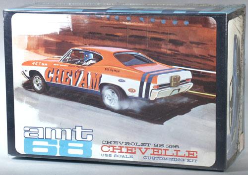 AMT 1968 Chevelle Chevam